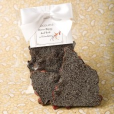 Lemon Poppy Seed Bark with Cranberry